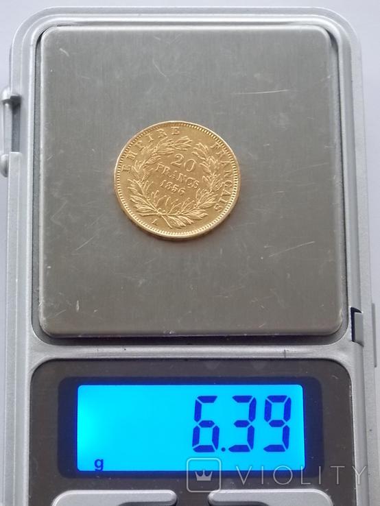 20 франков 1856 года, фото №6