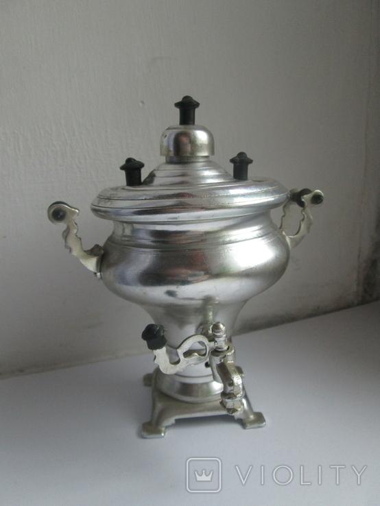 Самовар декоративный, маленький, фото №2