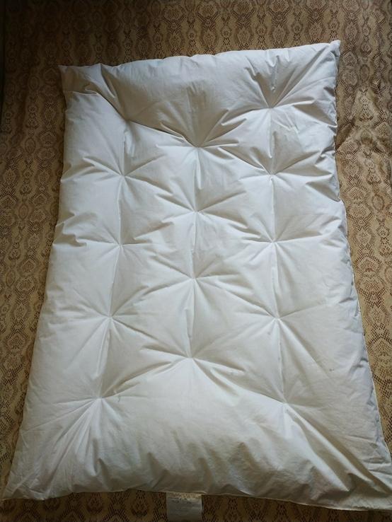 Детское пуховое одеяло PLIMAREX р-р 90х120 см Швейцария(состояние!), фото №2