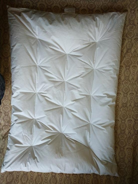 Детское пуховое одеяло PLIMAREX р-р 90х120 см Швейцария(состояние!), фото №3