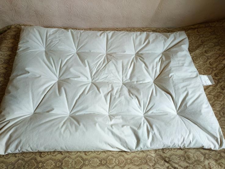 Детское пуховое одеяло PLIMAREX р-р 90х120 см Швейцария(состояние!), фото №6