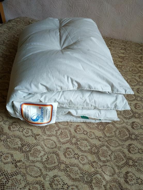 Детское пуховое одеяло PLIMAREX р-р 90х120 см Швейцария(состояние!), фото №7