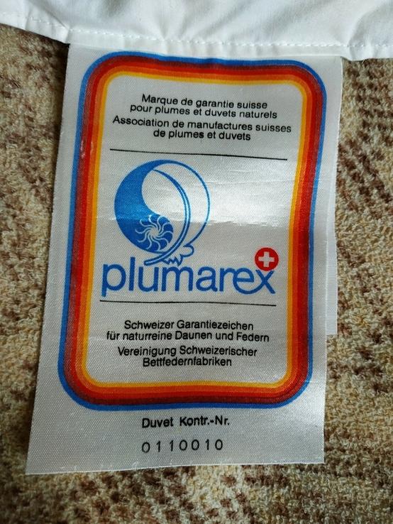 Детское пуховое одеяло PLIMAREX р-р 90х120 см Швейцария(состояние!), фото №9