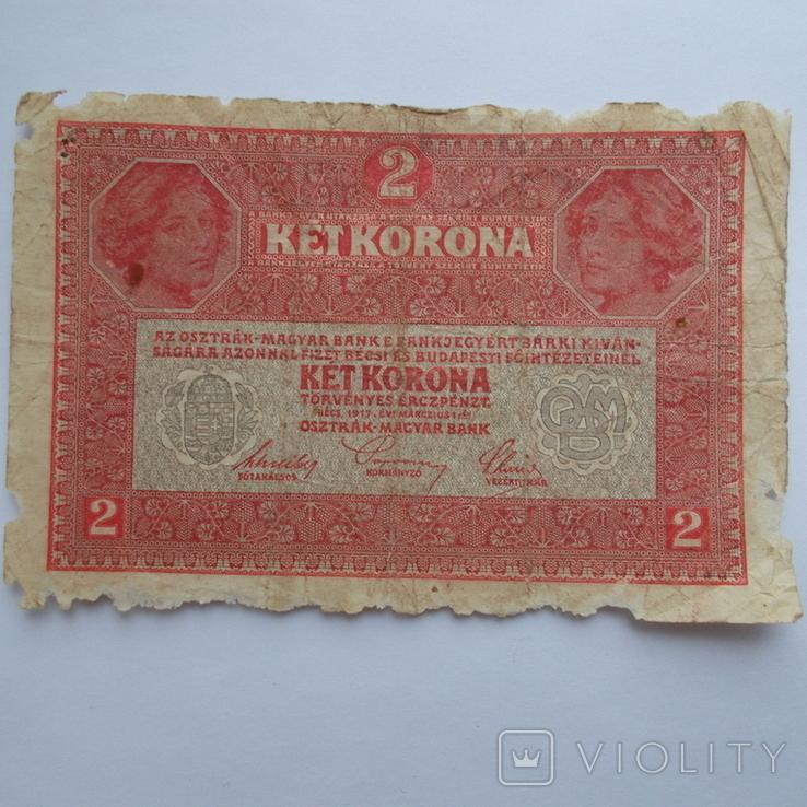 2 кроны 1917 г., фото №3