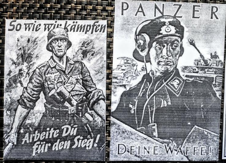 Агитационные плакаты времён Второй Мировой войны. Фоторепродукции, фото №6