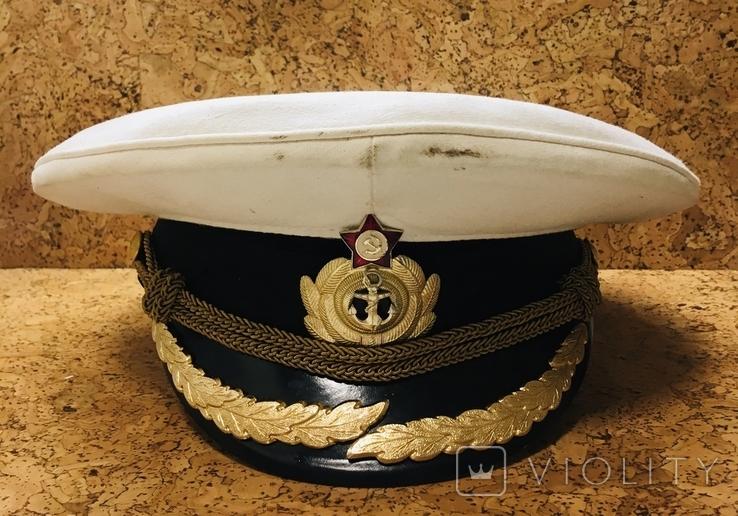 Парадная фуражка ВМФ, фото №2