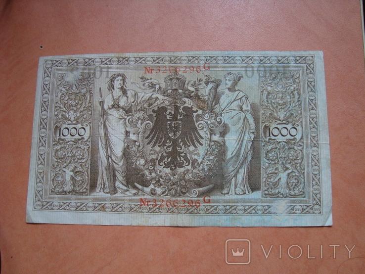 1000 марок 1910 р, фото №3
