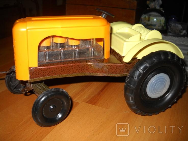 Іграшковий трактор, СССР ., фото №4