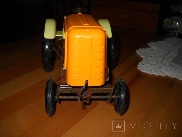 Іграшковий трактор, СССР ., фото №6