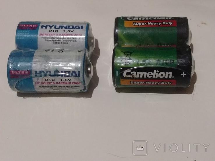 Элементы питания винтажные запечатанные. аккумуляторы телефонные, фото №2