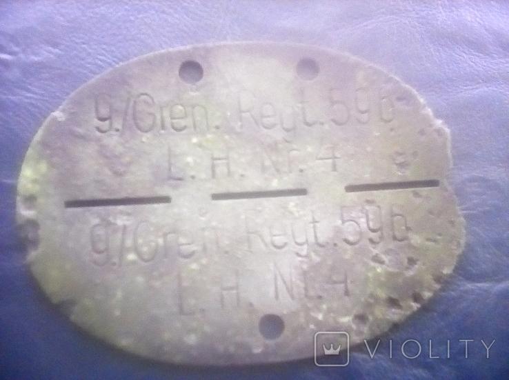 Жетон смертник Німеччина, фото №4