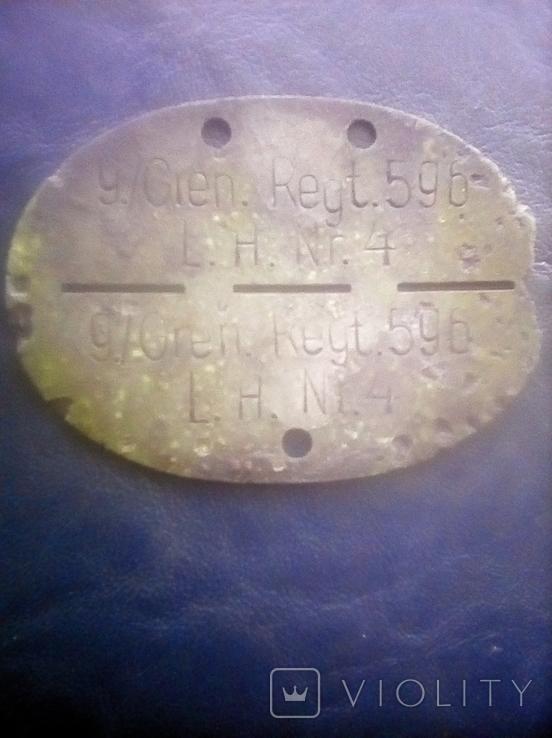 Жетон смертник Німеччина, фото №5