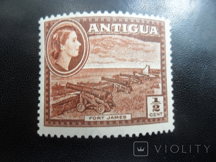 Британские колонии. Антигуа. пушки MLH, фото №2