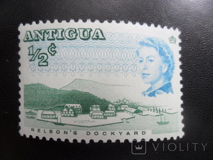 Британские колонии. Антигуа. MLH, фото №2