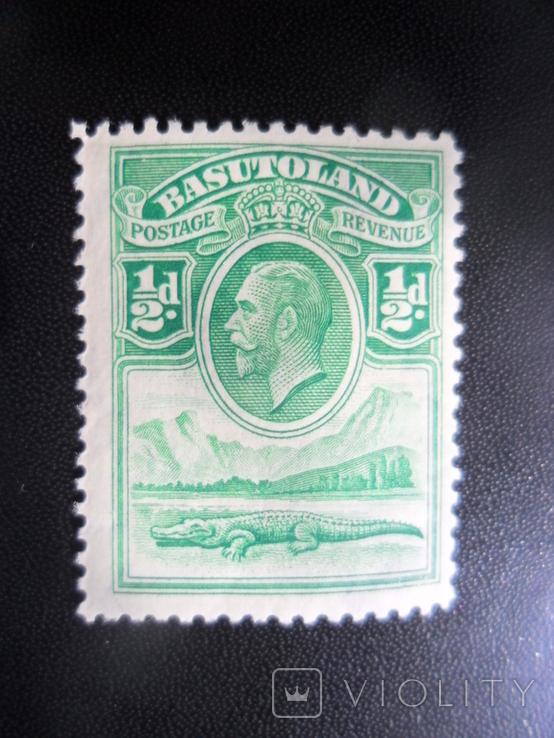 Британские колонии. Басутоленд. MLH, фото №2