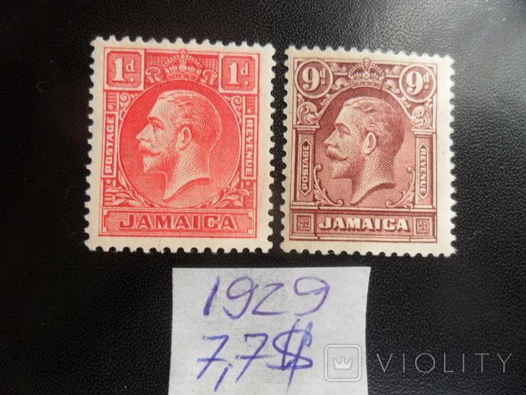 Британские колонии. Ямайка. 1929 г. МН, фото №2
