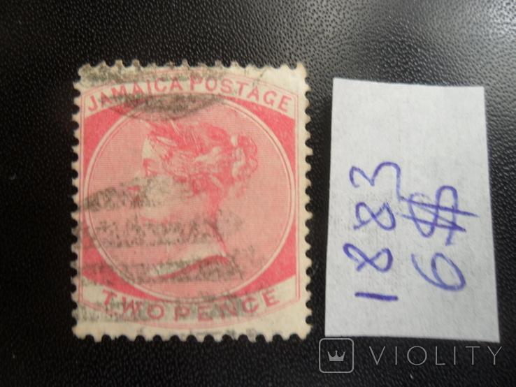 Британские колонии. Ямайка. 1883 г. Виктория. гаш