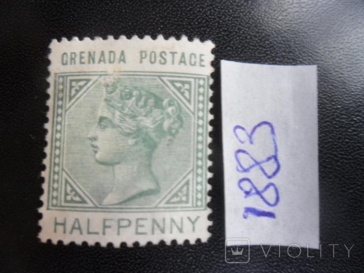 Британские колонии. Гренада. 1883 г. Виктория. МН, фото №2