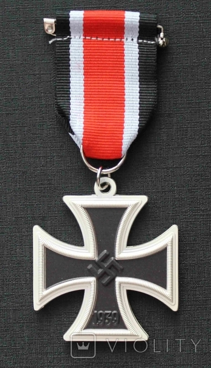 Железный крест Второго класса. 1939 Германия. Рейх Ж.К. (копия), фото №2