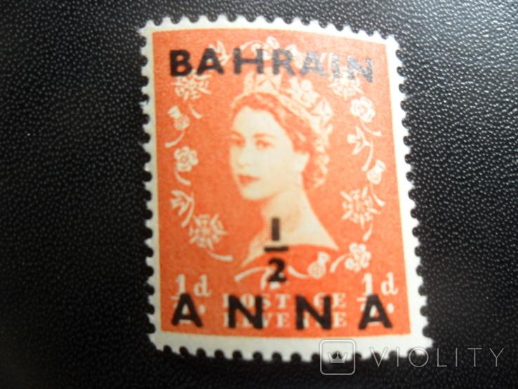 Британские колонии. Бахрейн. MLH, фото №2