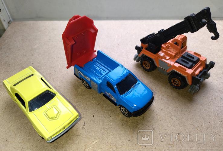 Модели автомобилей Matchbox от Mattel - Plymouth, Ford, Crane, фото №2