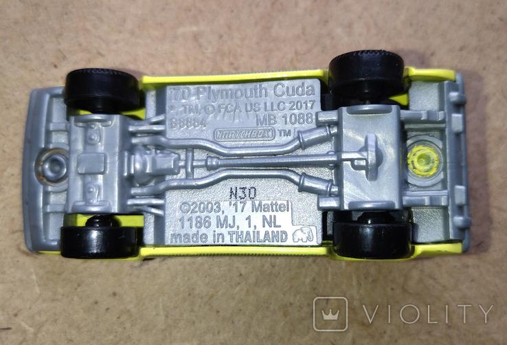 Модели автомобилей Matchbox от Mattel - Plymouth, Ford, Crane, фото №6