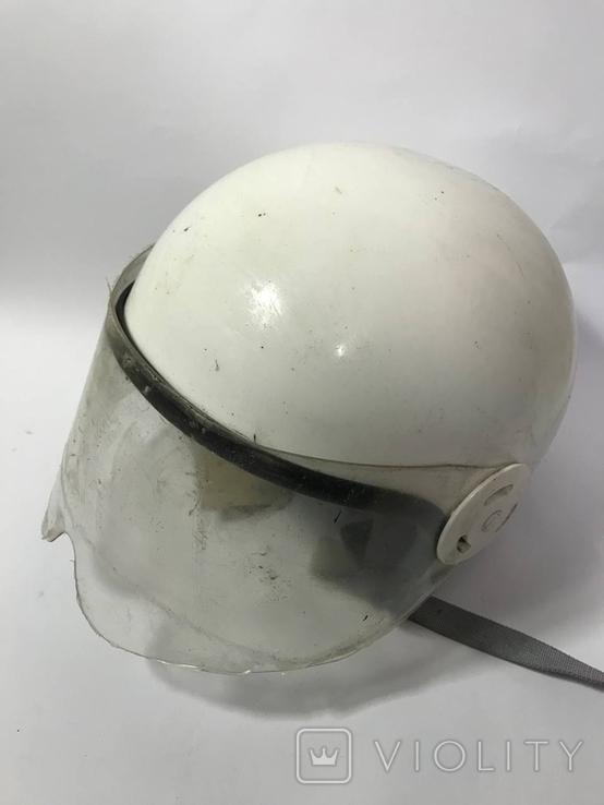 Мото шлем гаи ссср с биркой, фото №3