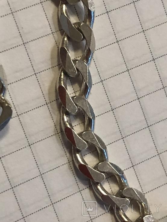 Цепь серебряная. Новая. 55 см, фото №7