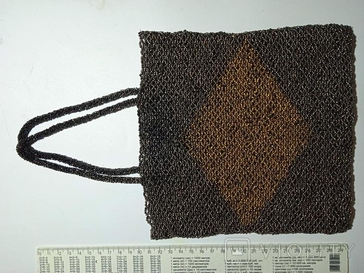 Сумка из бисера, фото №2