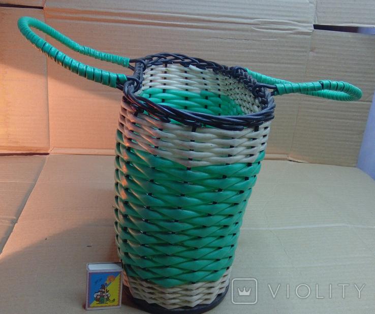 Корзина пластмасовая ссср, фото №2