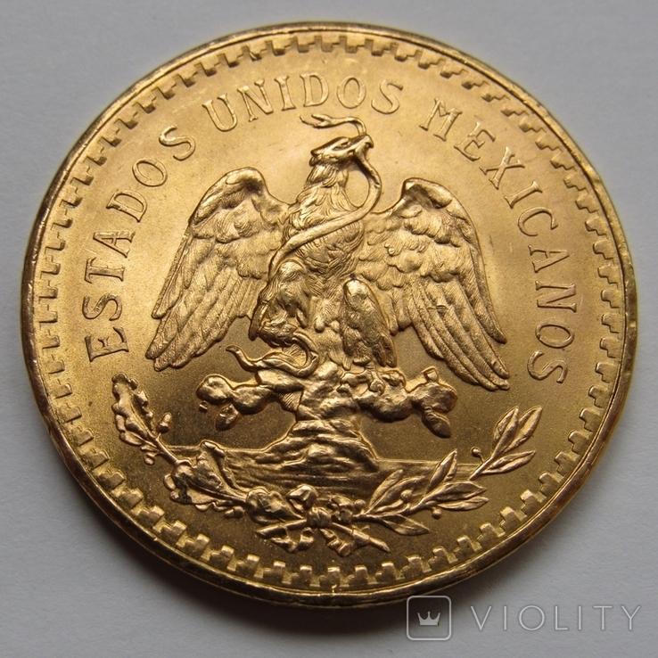 50 песо 1947 г. Мексика, фото №3