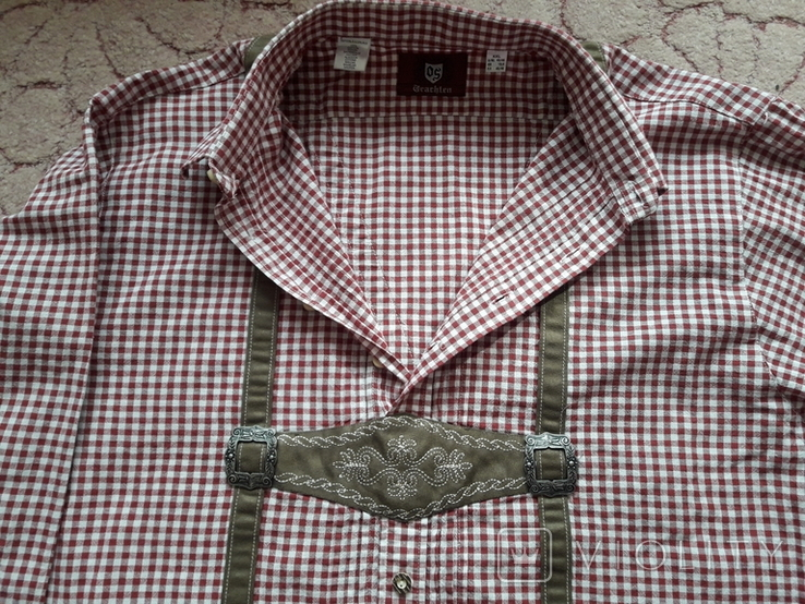 Мужская рубаха охотника. Европа., фото №7