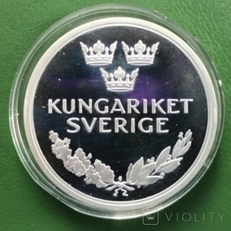 Медаль.Серебро.Швеция, фото №3