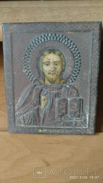 Икона Спасителя 11 на 13см, фото №2