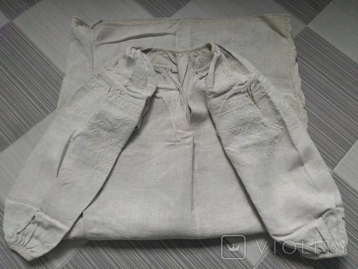 Сорочка белым по белому, фото №2