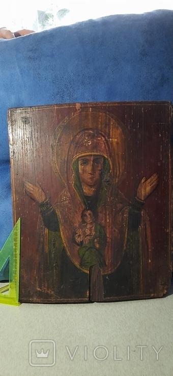 Старинная старообрядческая икона, фото №2