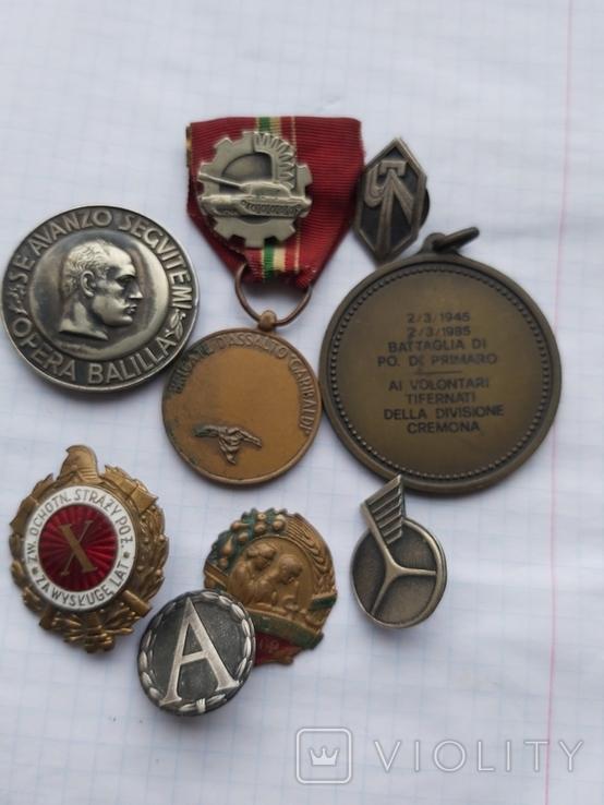 Лот медалі значки, фото №2