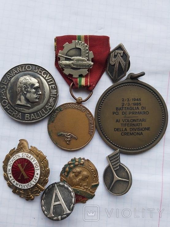 Лот медалі значки, фото №3
