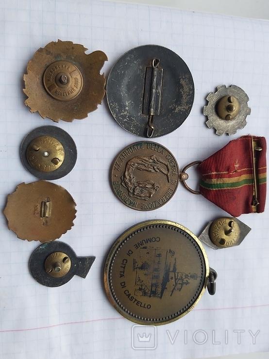 Лот медалі значки, фото №4