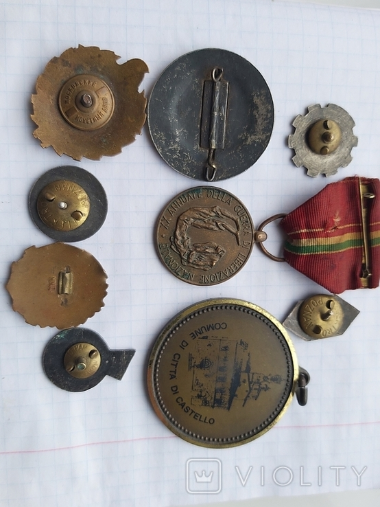 Лот медалі значки, фото №5
