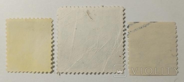 Марки США 1960-х (3шт), фото №3