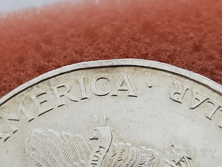 Унция,серебро,США(31,1 г.),1998 год., фото №13