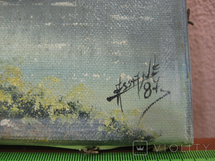 "Картина "" Горная река "" . Assane 87 ., фото №4"