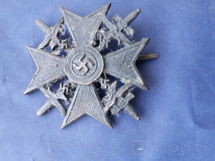Испанский крест(добровольцам в Испании) копия, фото №2