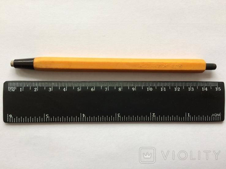 Ручка КимеК ц.30 коп. жёлтая, фото №2