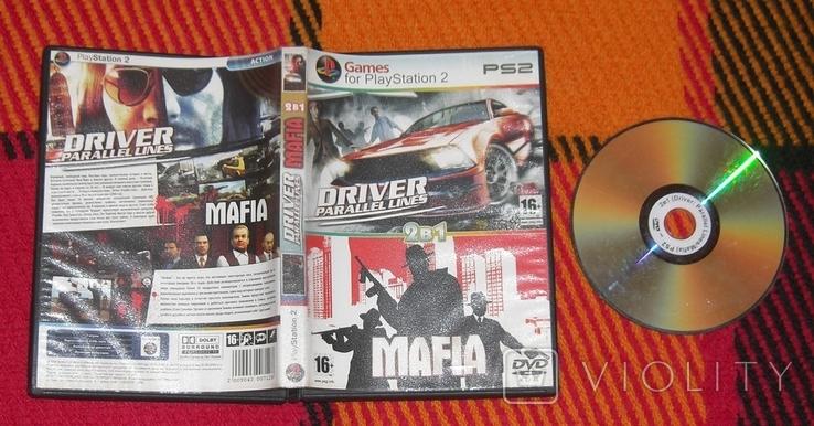 DVD PS2 Driver. Mafia. 2в1, фото №2