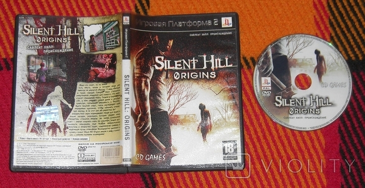 DVD PS2 Silent Hill. Origins, фото №2