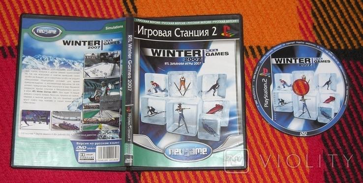 DVD PS2 Зимние игры 2007, фото №2