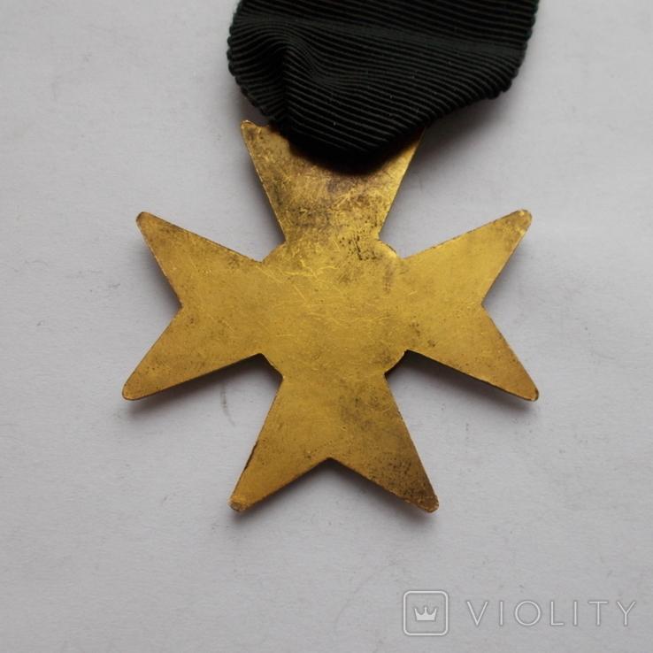 Крест американских масонов 2 ст. Без эмали., фото №5