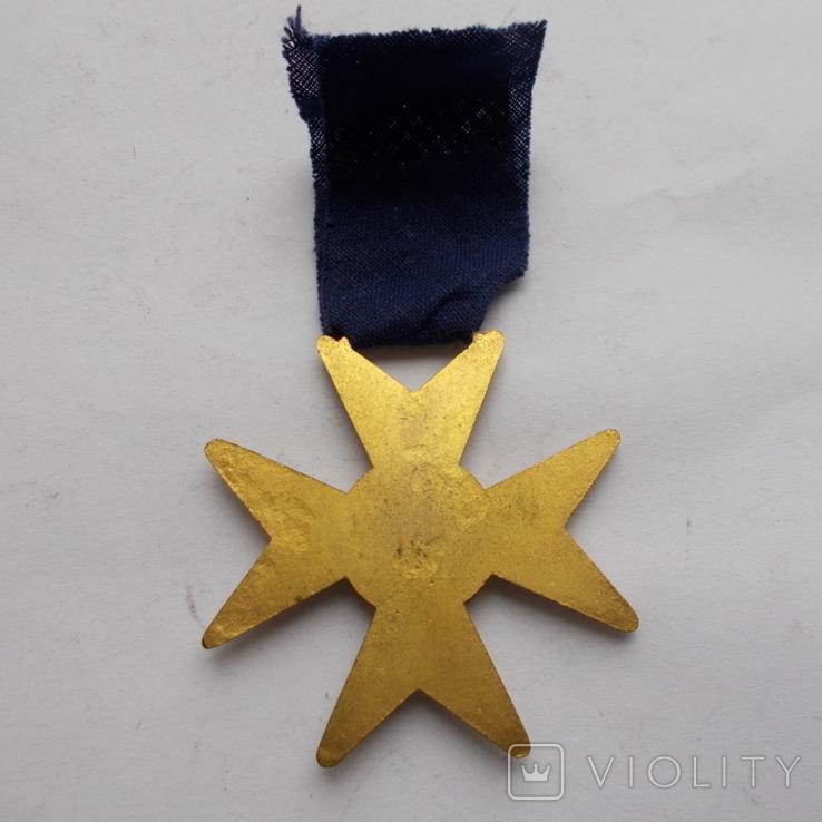 Крест американских масонов 1 ст. Эмаль., фото №4
